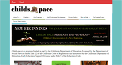 Preview of childs-pace.org